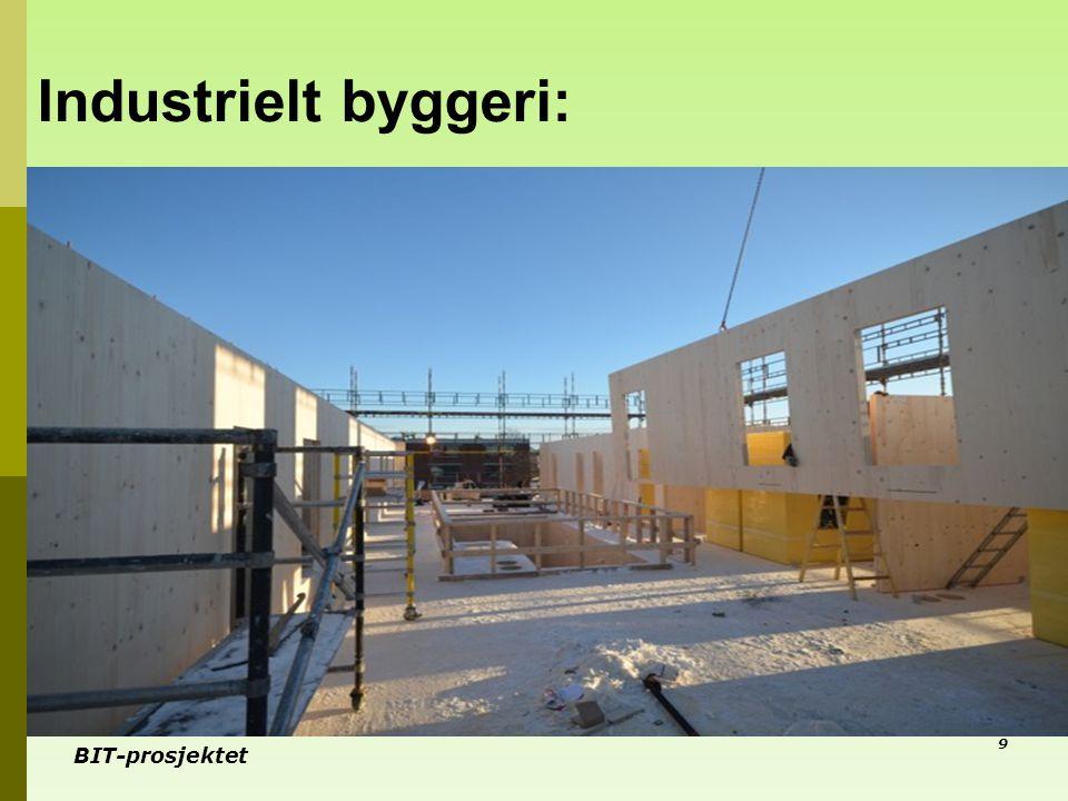 BIT-prosjektet Industrielt byggeri: 9
