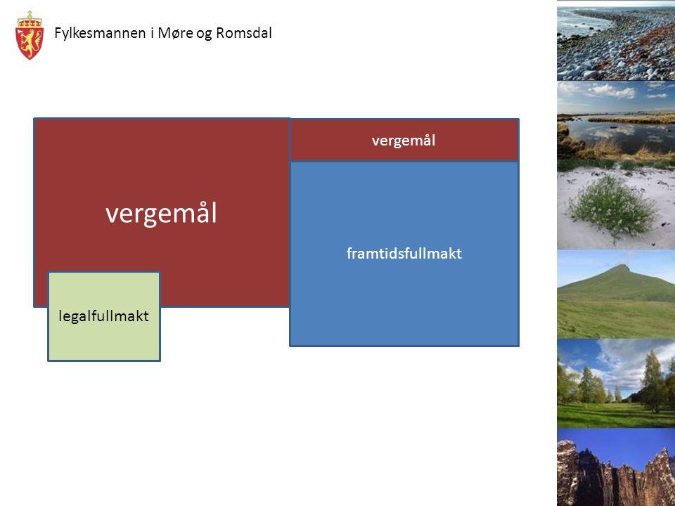 Fylkesmannen i Møre og Romsdal Rettslig vilkår Personen må ikke være i stand til å ivareta sine interesser.