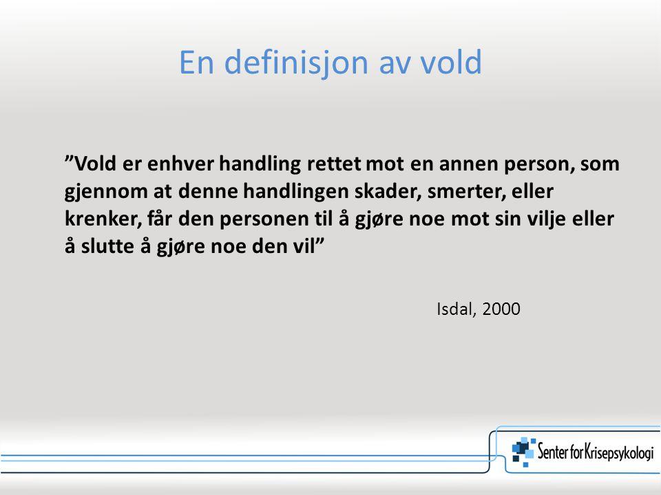 74 Faktorer som assosieres med risiko for livstruende vold Kilde: ATV/Davied, Lyon & Moit-Catania, 1998
