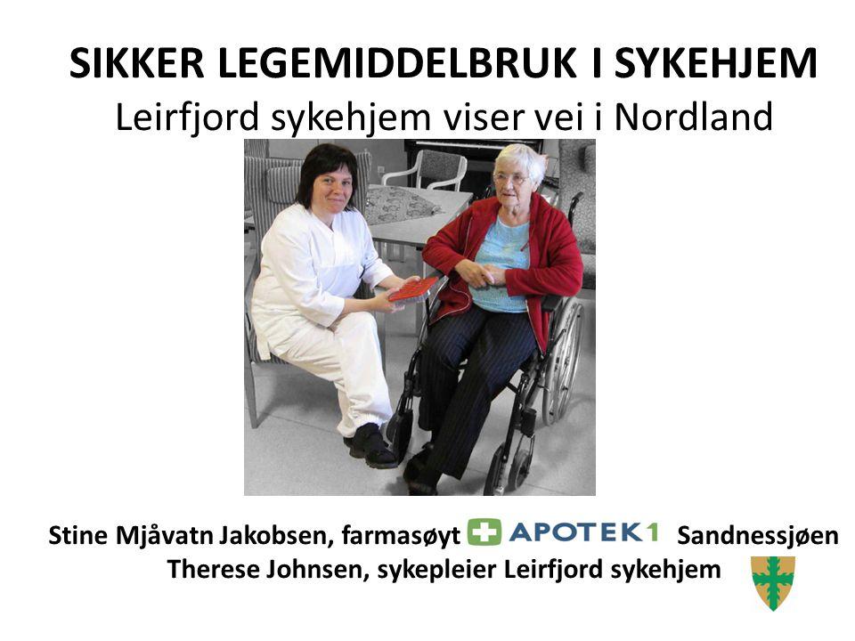 6-8 LM daglig 80-90% er utsatt for LRPs 10-15 % av alle sykehusinnleggelser er helt eller delvis forårsaket v LRPs Eldre er sårbare.