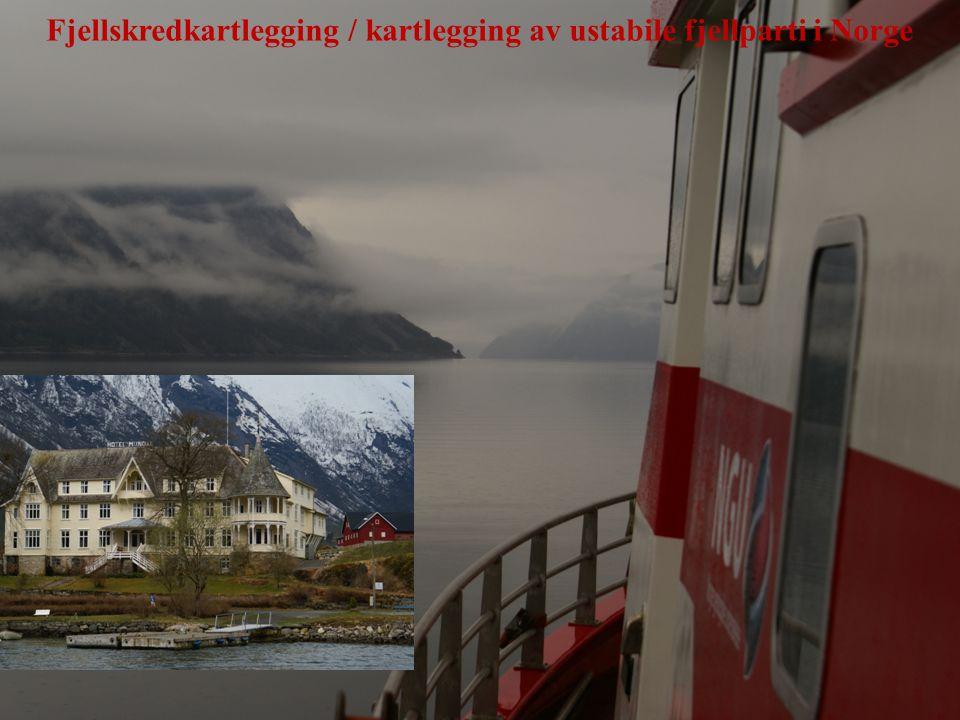 Fjellskredkartlegging / kartlegging av ustabile fjellparti i Norge