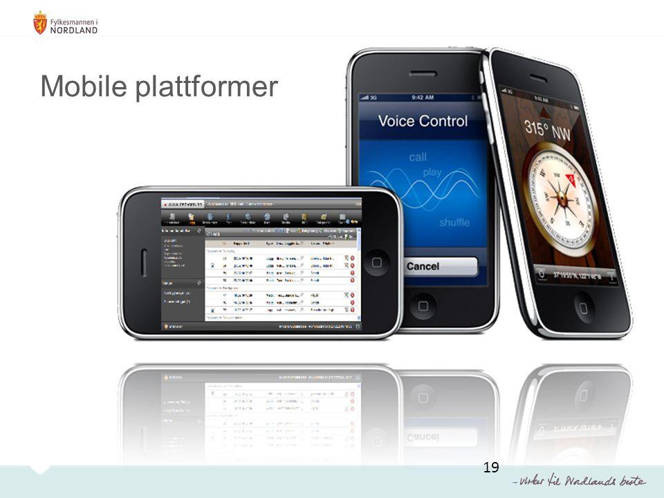 Mobile plattformer 19