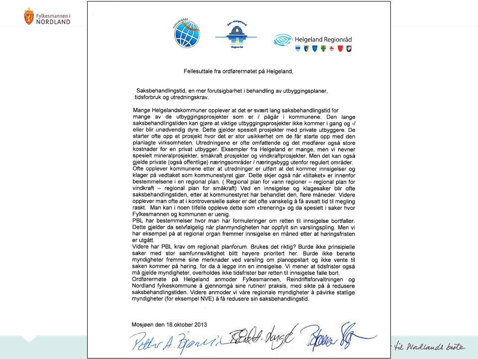 Hva som er gjort: Oppstartsmøte 10.september 2013 Oppstartsbrev 18.