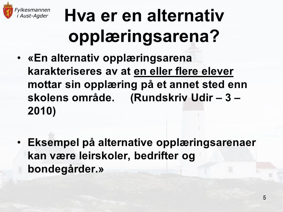 Lykke til.Rundskriv: Udir.-3-2010 Bruk av alternativ opplæringsarenaer i grunnskolen.