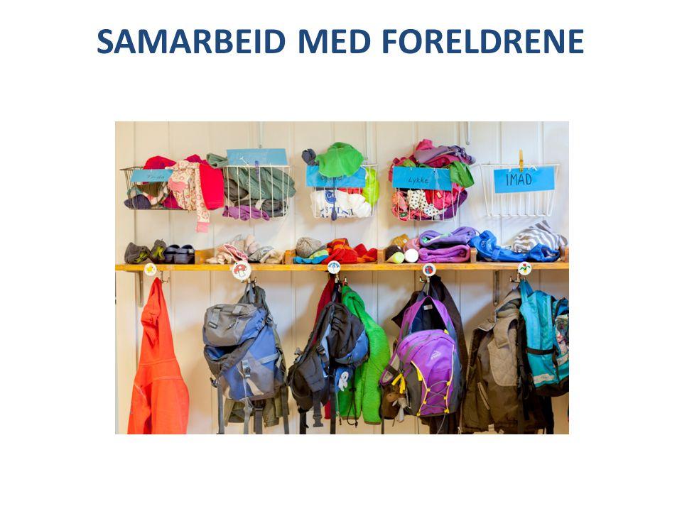 SAMARBEID MED FORELDRENE