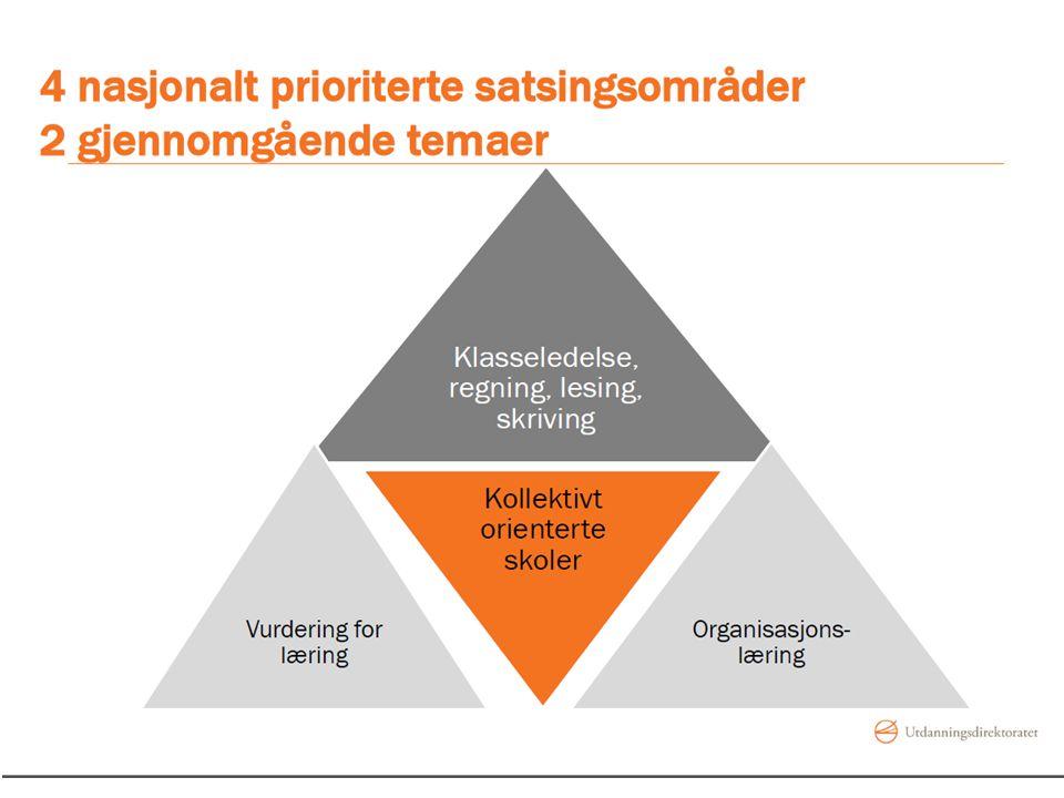 Skolebasert kompetanseutvikling i fullskala 6 prinsipper: Kompetanseutvikling på organisasjonsnivå Kompetanseutvikling på individnivå innsats over tid, differensierte tilbud til skolene, likeverdig tilbud i alle lærerutdanningsregionene, lett tilgjengelig materiell og kunnskapsutvikling på alle nivåer.