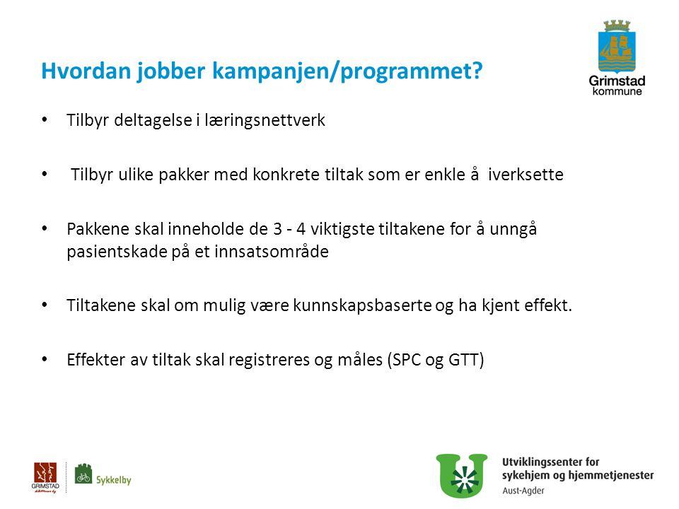 Grimstad: Hva vil vi måle: Hvor mange brukere har samstemte legemiddellister.