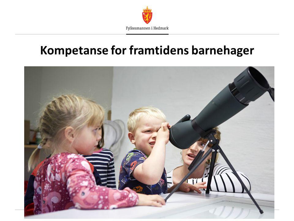 Kompetanse for framtidens barnehager