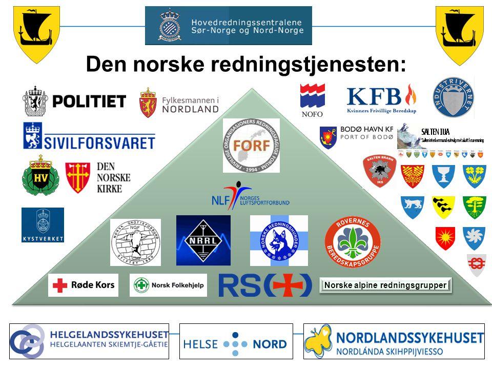 Den norske redningstjenesten: Norske alpine redningsgrupper