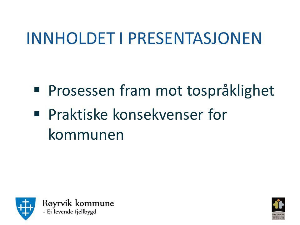 Hvem er Røyrvik kommune.
