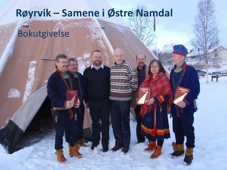 Røyrvik – Samene i Østre Namdal Bokutgivelse