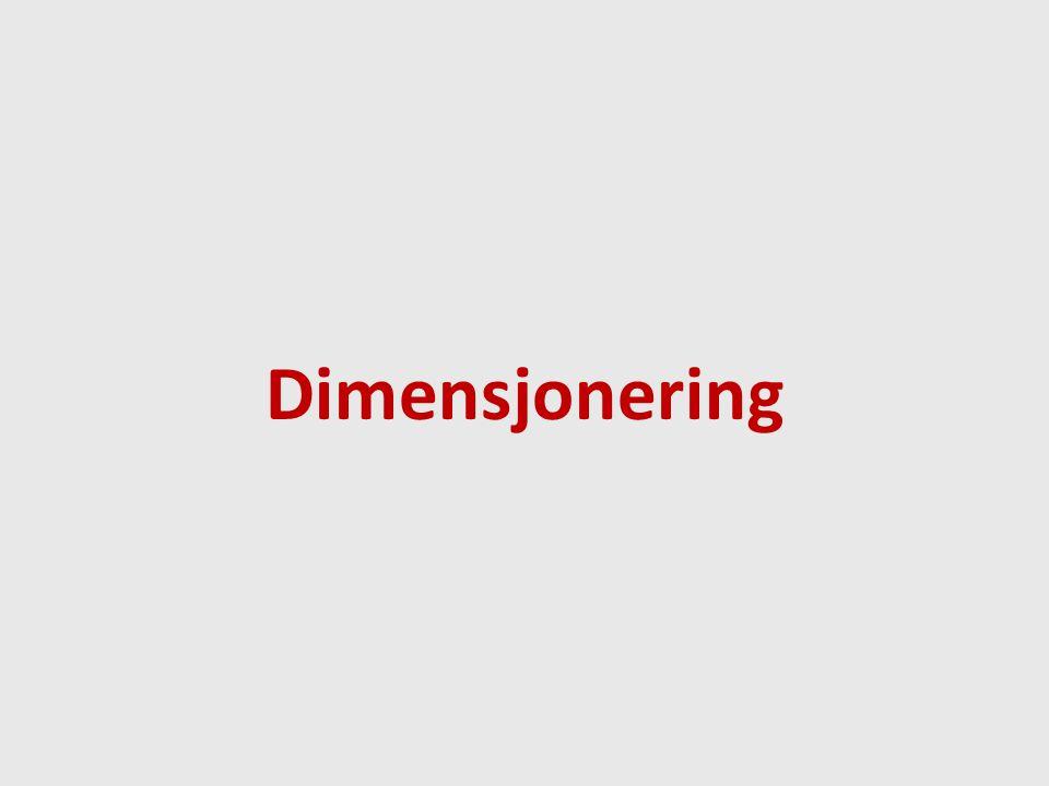 Dimensjonering