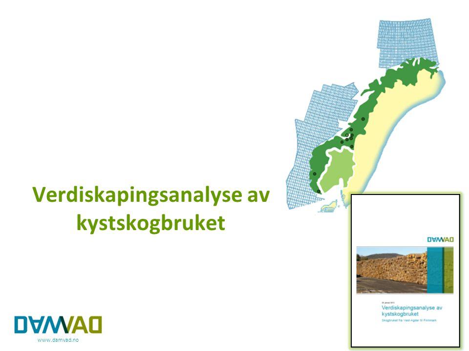 www.damvad.no Verdiskapingsanalyse av kystskogbruket