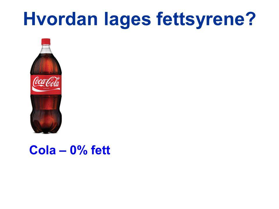 Cola – 0% fett