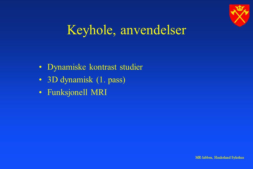 MR-labben, Haukeland Sykehus Dynamiske kontrast studier 3D dynamisk (1.