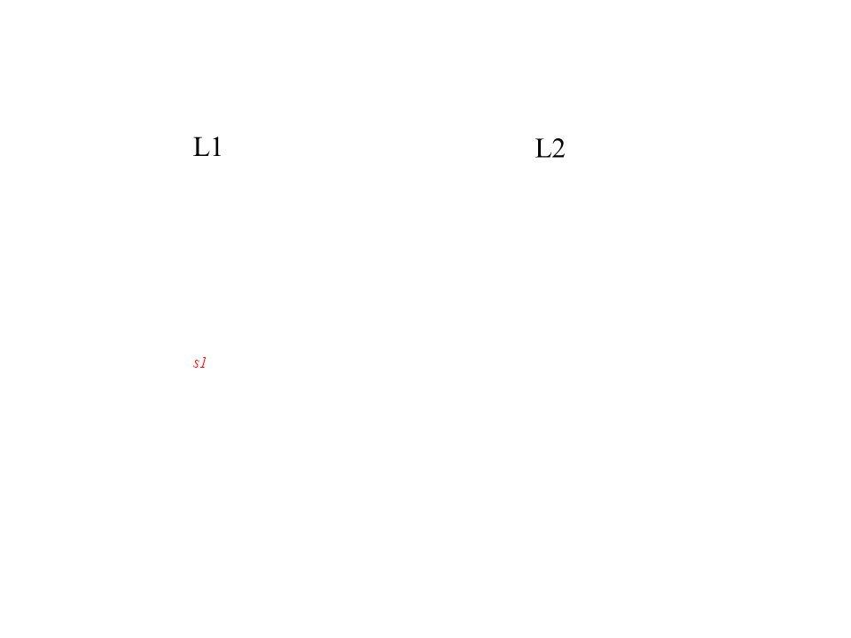 L1 L2 s1