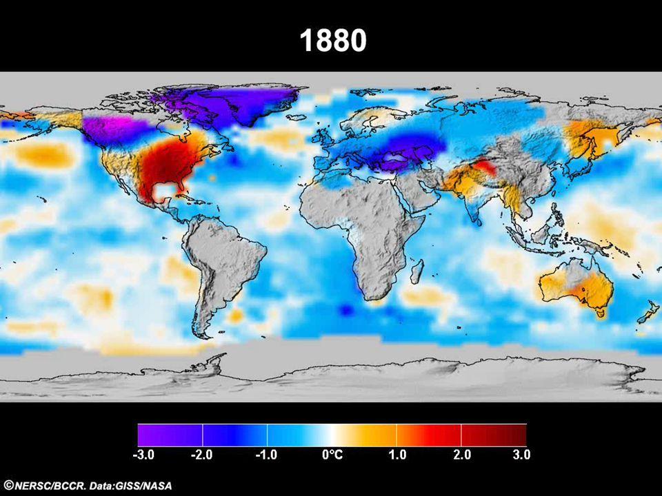 Helge Drange Geofysisk institutt Universitetet i Bergen GISS+HadCRU3T RSS+UAH Termometer Satellitt Observert global temperatur, 1880-2011 Temperaturendring (°C) Opvarming på ca.