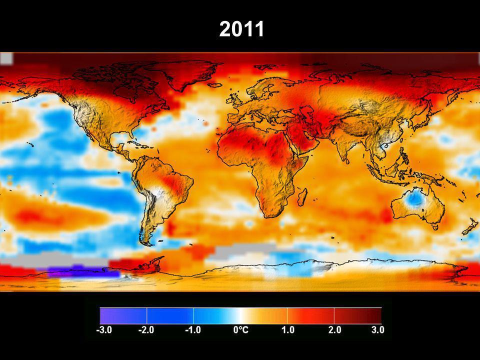 283 Gt C 58 % 42 % Havets opptak av menneskeskapt CO 2 (for 1800-1994) Marland et al, 2003 og Sabine et al., 2004