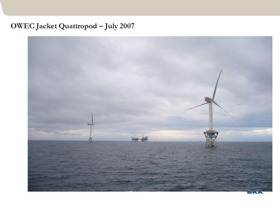 OWEC Jacket Quattropod – July 2007