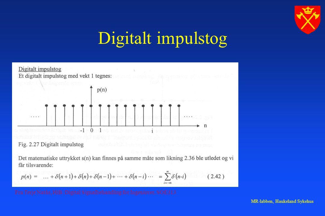 MR-labben, Haukeland Sykehus Digitalt impulstog Fra Terje Natås, HiB.