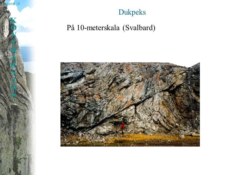 Kapittel 16 KONTRAKSJONKONTRAKSJON Sammensatte foliasjoner på mikroskala Dynamisk rekrystallisasj on av kvarts gir to foliasjoner.