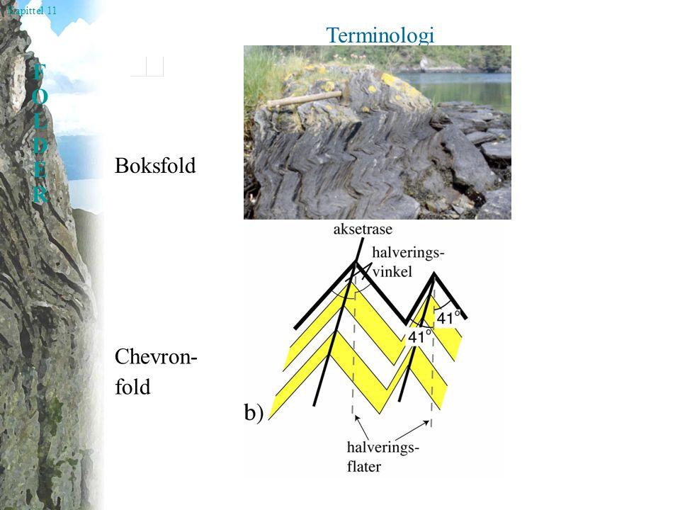 Kapittel 11 FOLDERFOLDER Terminologi Boksfold Chevron- fold