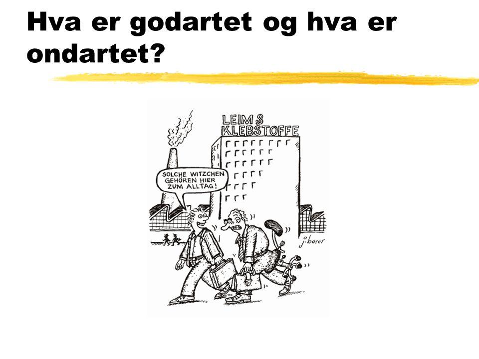 Ikke alle kommer like godt overens på en arbeidsplass z Forekomsten er uklar, pga. uklar definisjon z 3% av norske arbeidstakere? z 5%?
