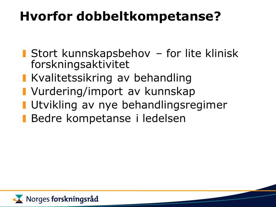 Hvorfor må norske psykologer forske.