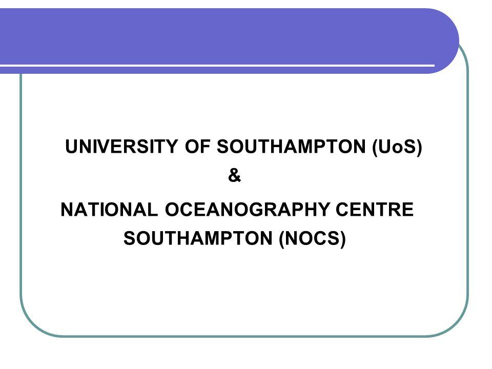 http://www.noc.soton.ac.uk/ http://www.southampton.ac.uk/ NETTADRESSER