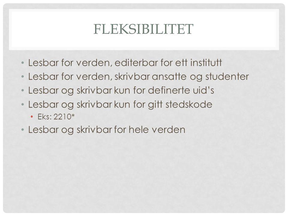 LOCALSETTINGS.PHP Hver wiki har sin egen konfigurasjonsfil: http://folk.uib.no/mihho/wikihost/LocalSettings.php.pdf