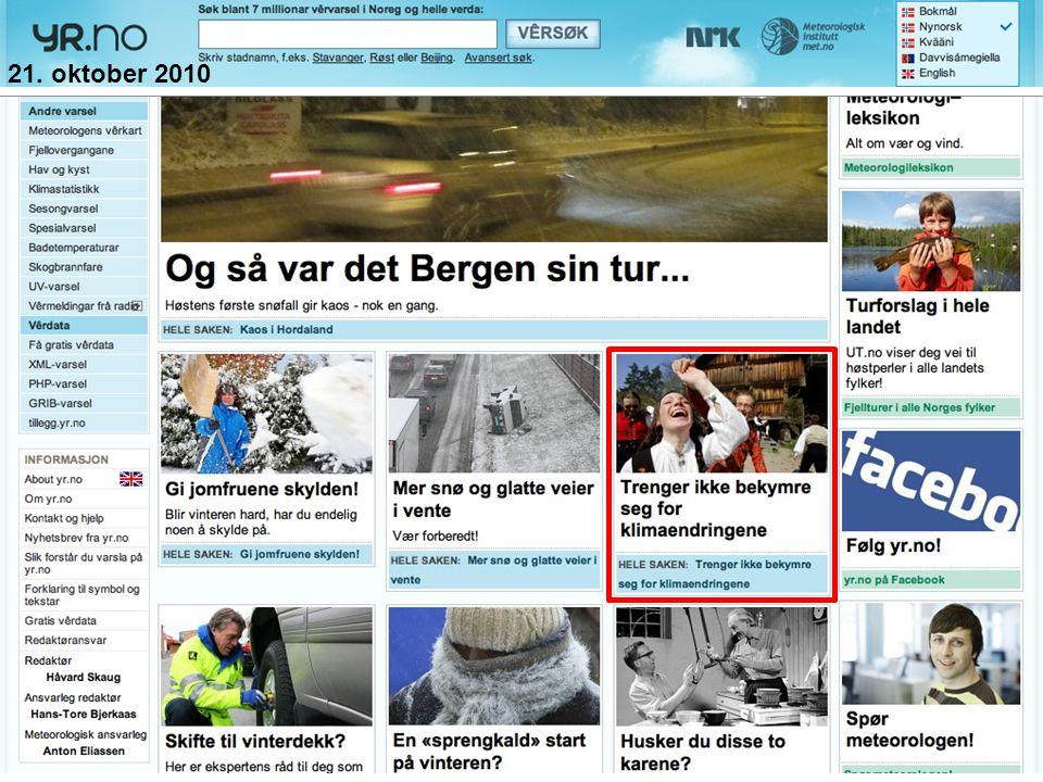 Helge Drange Geofysisk institutt Universitetet i Bergen Forventet endring i nedbør (SRES A1B) VåtereDryerTørrere