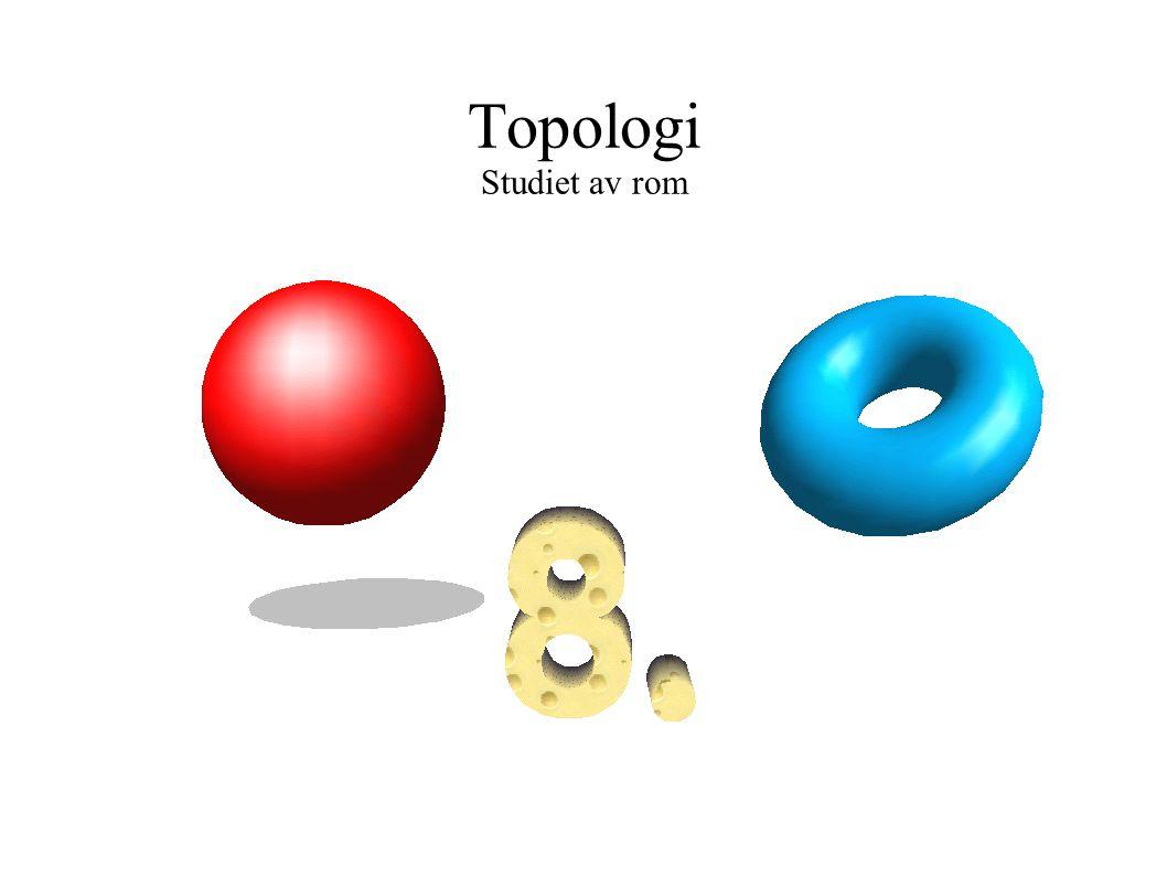 Topologi Studiet av rom 9x2 + 4y2 = 36