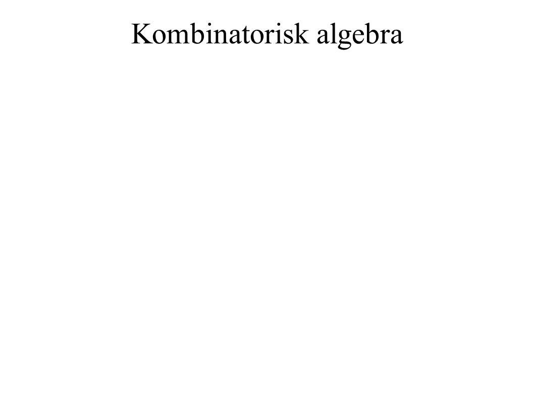 Kombinatorisk algebra 9x2 + 4y2 = 36