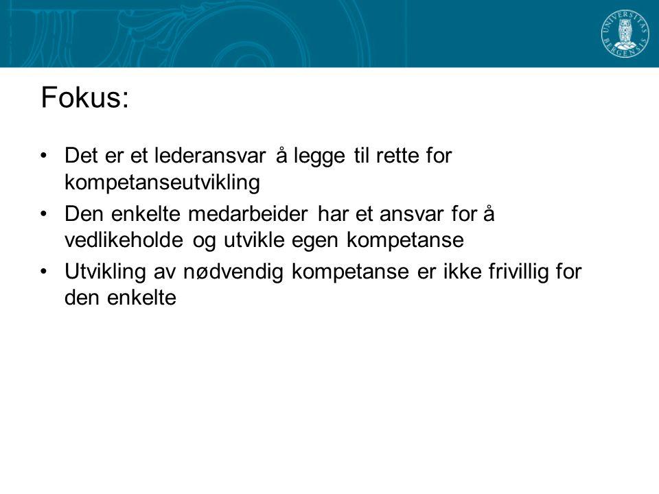 PRIORITERINGER I PLANPERIODEN 2003 - 2005 OMSTILLINGSPROGRAMMER FOR ADMINISTRATIVT OG TEKNISK PERSONALE LEDERUTVIKLING STUDENTSERVICE OG STUDENTOPPFØLGING IT-KOMPETANSE FORSKNINGSTEKNISK ASSISTANSE UTVIKLE/TESTE UT METODER FOR KOMPETANSEBYGGING