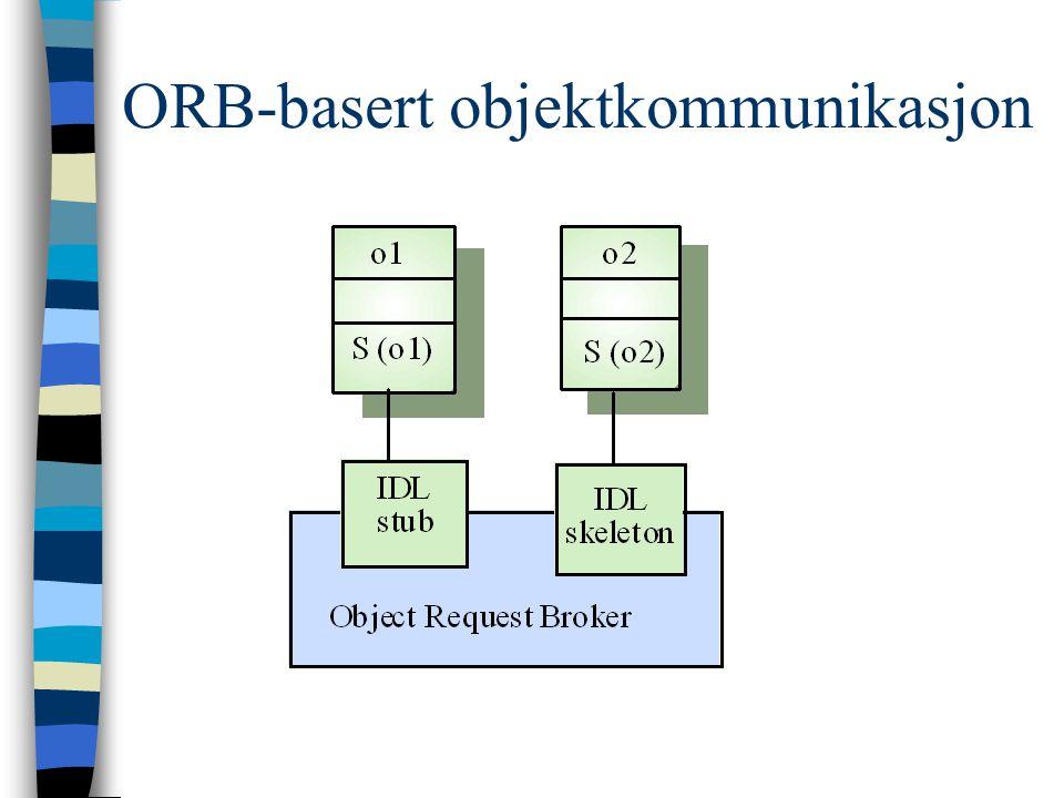 ORB-basert objektkommunikasjon