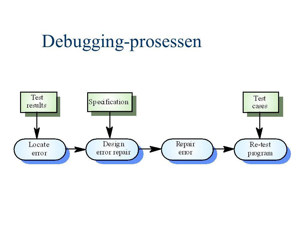 Debugging-prosessen
