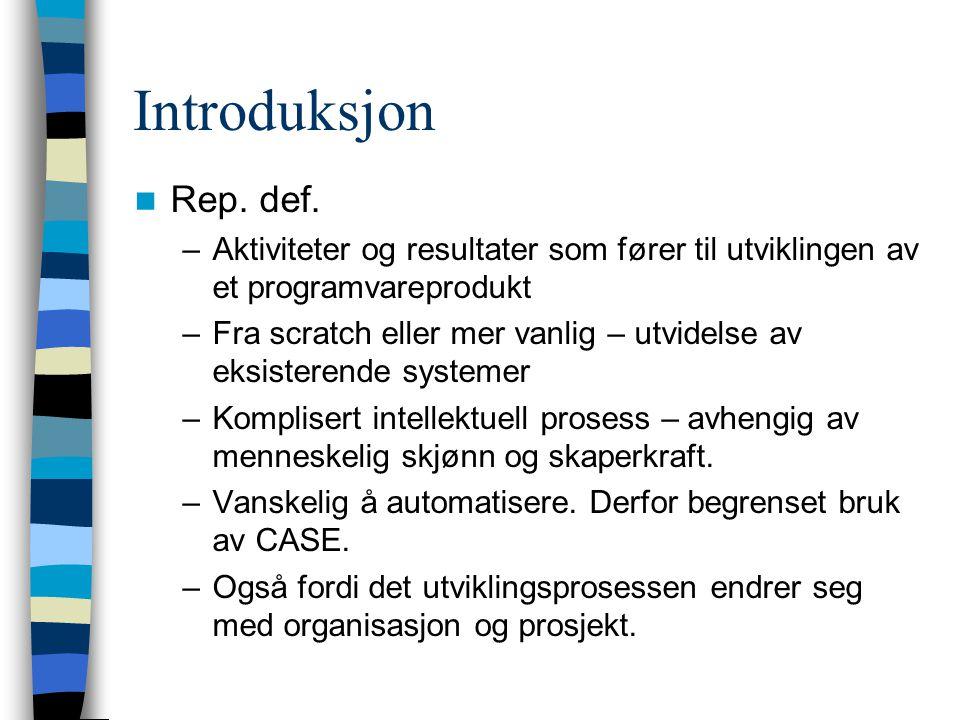 Introduksjon Rep.def.