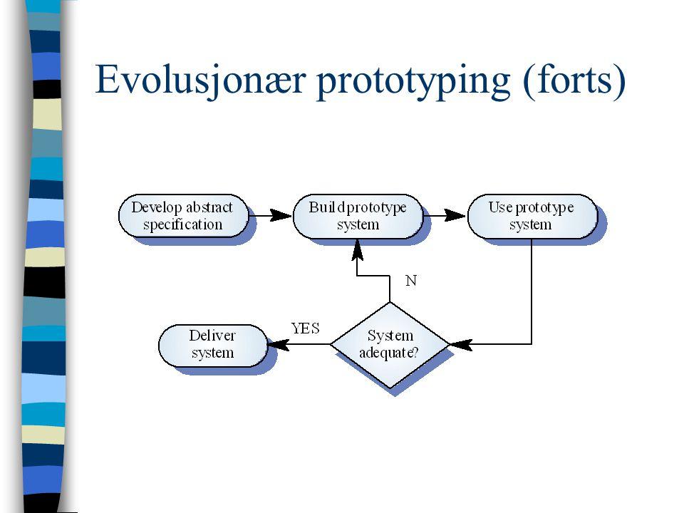 Evolusjonær proto.