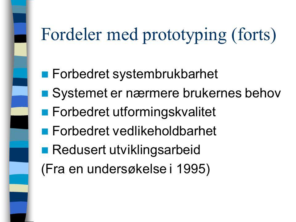Prototypingsprosessen