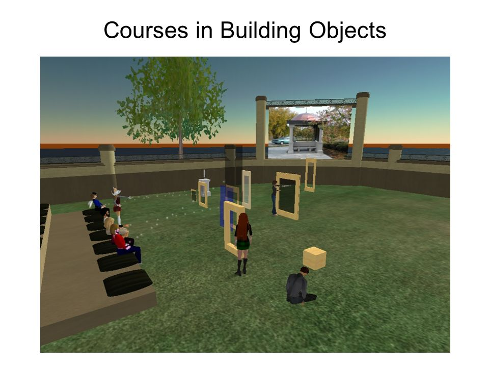 Courses in Building Objects