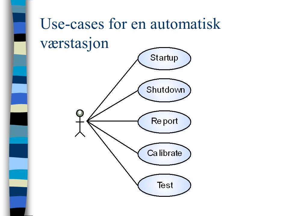 Use-cases for en automatisk værstasjon