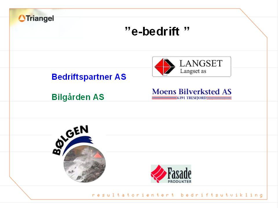 E-entreprenør; Vare – og infoflyt 30.05.02 ODA/NOBB Norsk Varedatabase 1.Anbud LEVERANDØR Kjedeløsning; -Økonomi -Logistikk/ordre -faktura 2.