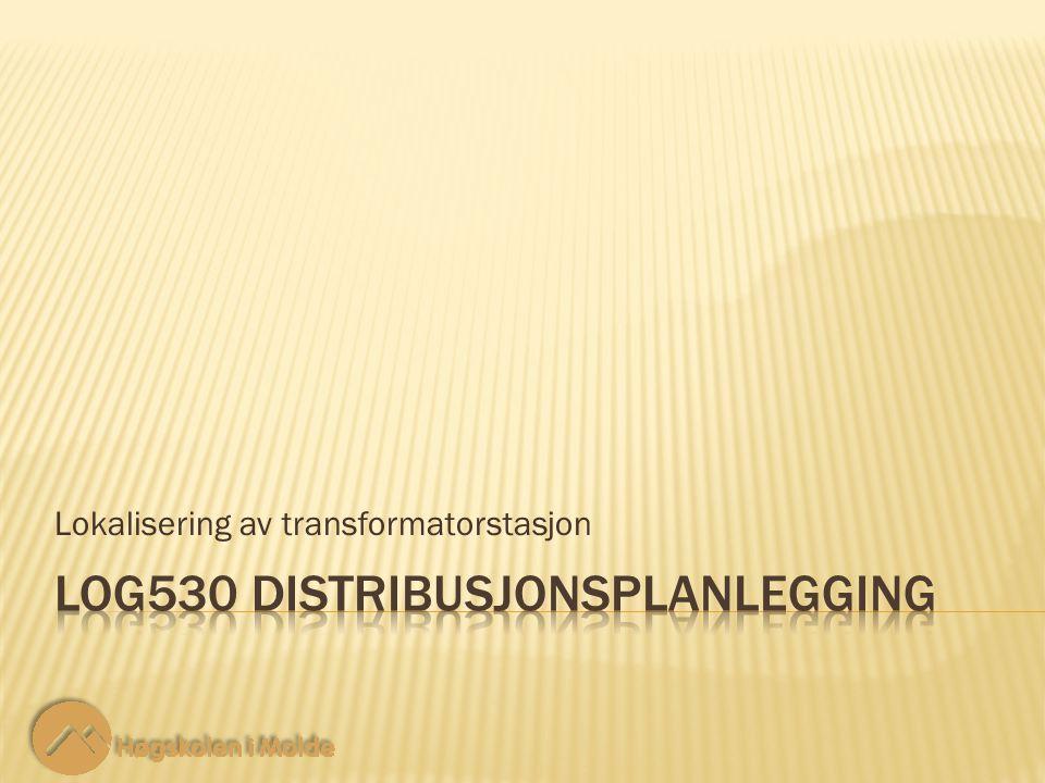 Lokalisering av transformatorstasjon