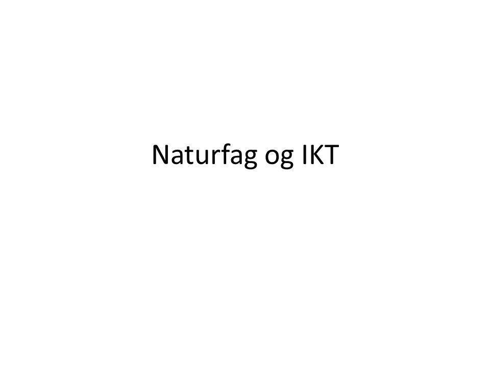 Naturfag og IKT