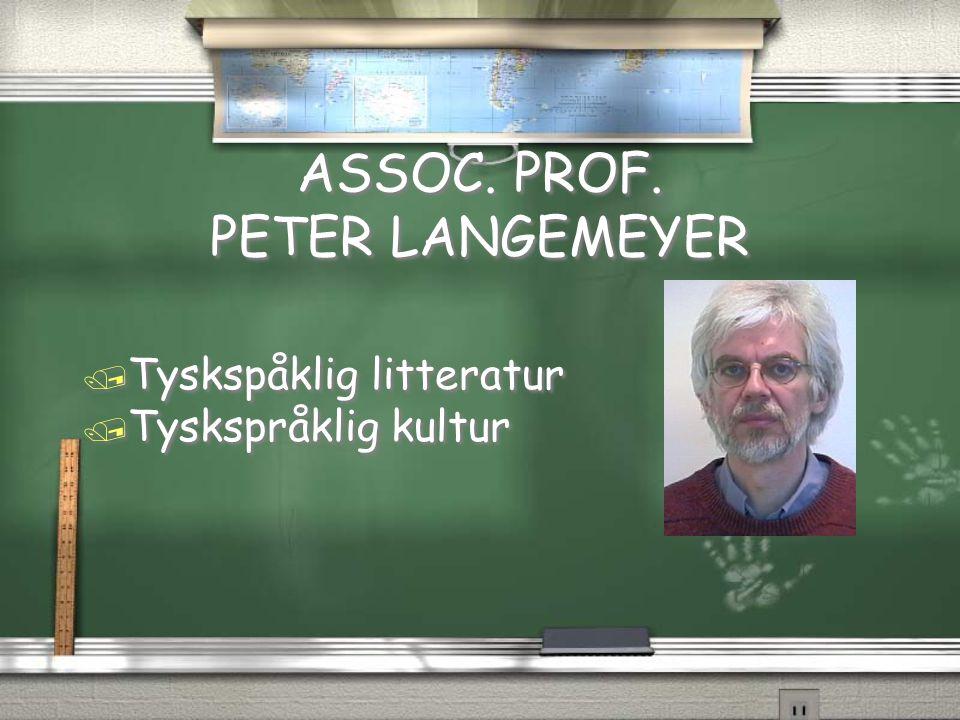 Assoc.Prof. Dr. R.