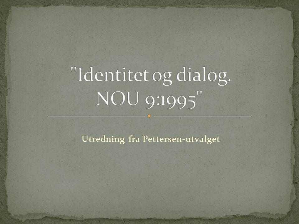 Utredning fra Pettersen-utvalget