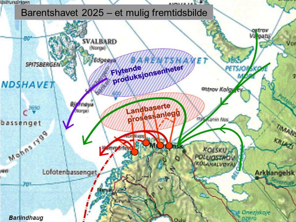 Barentshavet 2025 – et mulig fremtidsbilde Barlindhaug