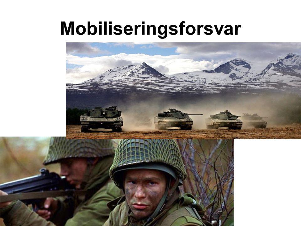 Mobiliseringsforsvar