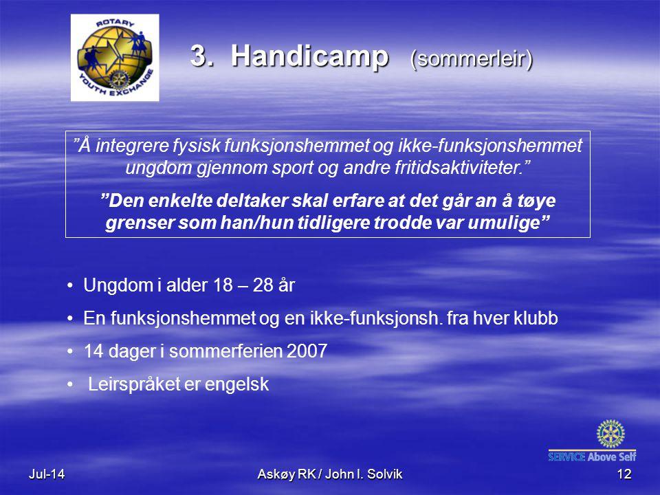 Jul-14Askøy RK / John I. Solvik12 3.