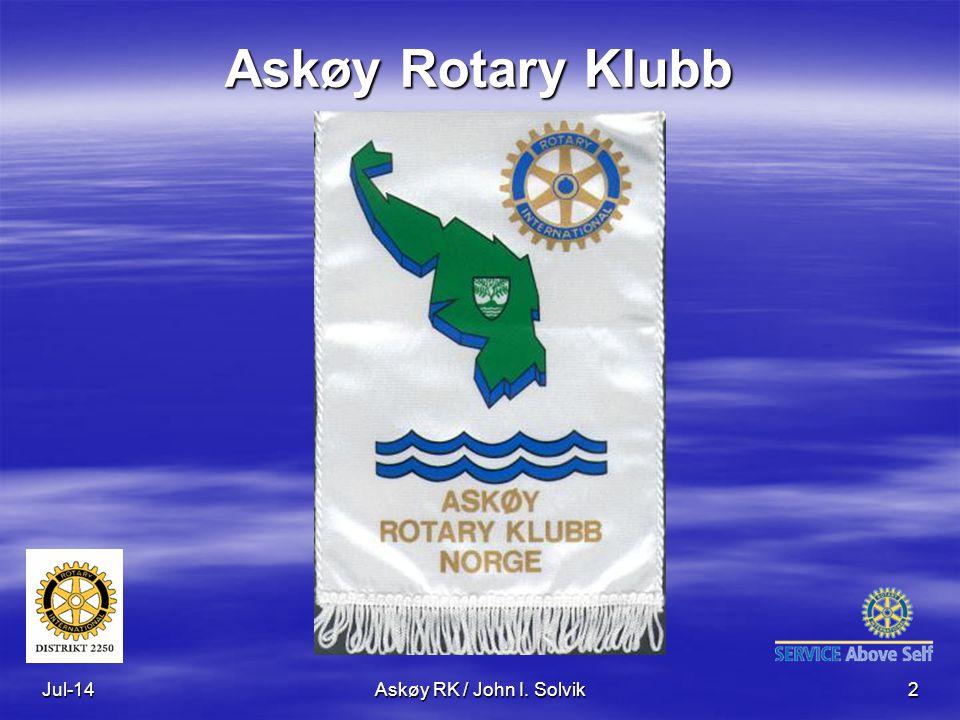 Jul-14Askøy RK / John I. Solvik2 Askøy Rotary Klubb